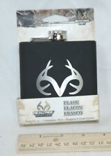 RealTree Outfitters Flask 6 fl oz choose brown camo, pink or black NEW