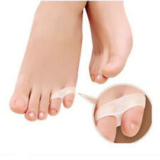 Gel Tailor Bunion Two Holes Small Toe Separators Stretchers Straighteners Alignm