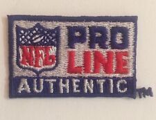"""NFL Shield Pro Line Authentic  Jersey Patch I.75""""X11.1""""Inch  Iron  On  Patch"""