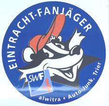 """Eintracht Trier Aufkleber """"Eintracht- Fanjäger"""" Sticker Bundesliga Fussball #138"""