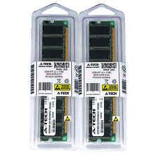 Atech 2GB Kit Lot 2x 1GB DDR Desktop PC3200 3200 400 400mhz 184-pin Memory Ram