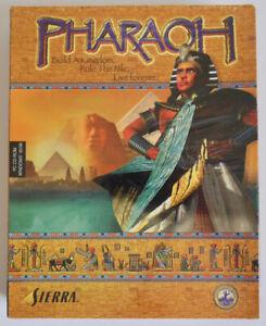 PHARAOH SIERRA ONLINE PC CD GAME WINDOWS 95-98 EGYPT PYRAMIDS THE NILE *NEW*