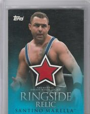 SANTONIO MARSELLA EVENT WORN SRIRT RINGSIDE RELIC 2009 TOPPS WWE