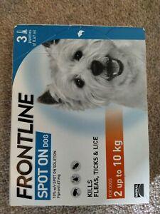 Frontline Spot On Flea & Tick Treatment Small Dogs 2-10Kg - 3 pipettes - AVM-GSL