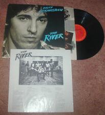 Bruce Springsteen The River CBS 2 LP Insert & Inners PROMO STAMP 1980