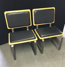 Pair of Lunar Lounge Ply Bak Chairs | Mid Century Design by J. Sebastian