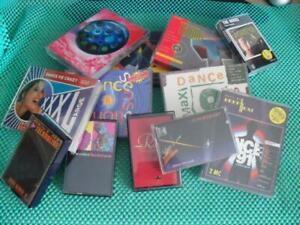 19x MC Musikkassetten - Techno House, Dance Maxi, The Doors, New Order u.a.