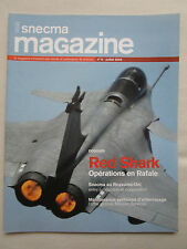 SNECMA MAGAZINE 6 RAFALE M88 MER ROUGE MESSIER ARRIEL COAST GUARD MIRAGE 4000