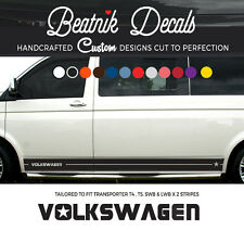 VW T6 T5 Side Stripe Sticker Decal  - Camper Van Graphic Volkswagen  Star Vinyl