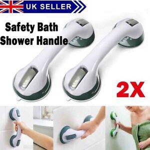 300LBS Bath Safety Shower Grip Handle Suction Handrail Grab Bar Rail for Elderly