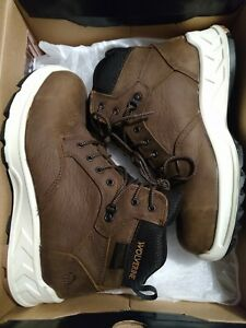 New Wolverine Mens Shoes Boots Shiftplus Mid LX Size 8.5