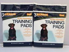 6 X-Large Ultra Absorbent Pet Training Pads 6 pads Pet Inc for dogs pups pets
