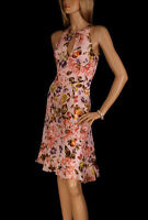 Karen Millen Floral Halterneck Dress & Matching Shrug,  BNWT UK10 (DA057)    KM8