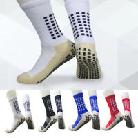 Premium Style Football Soccer Sports Socks Anti Slip UK Seller