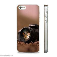 Cámara De Fotografía Canon caso claro se adapta iPhone 4S 5 5S 5 C 6 6S 7 8 se X Plus