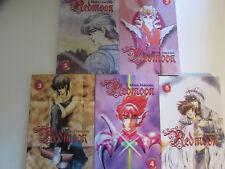 Redmoon Manga by Mina Hwang, Volumes 1 thru 5, 2001