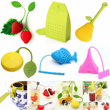 Silicone Loose Tea Infuser Leaf Mr Tea Man Strainer Filter Diffuser Herbal Spice