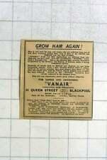 1951 Vanair Hair Specialists Queen Street Blackpool