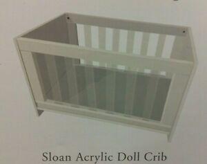 Pottery Barn Kids Girl sloan doll baby toy white play pretend american crib