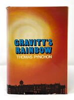 Thomas Pynchon - Gravity's Rainbow - HCDJ 1st 1st - Post Modern - Author V.