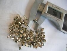 Studs for leather jackets etc.100  Cone shaped studs. FREE POSTAGE