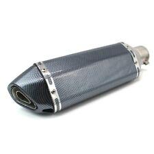 Auspuff Force für Aprilia RSV 1000 R (Mille) Schalldämpfer Carbon Look