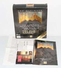 THE ULTIMATE DOOM & EPISODE IV: THY FLESH COMSUMED BIG BOX PC FLOPPIES