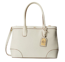 Lauren Ralph Lauren Fairfield City Shopper , Off White, MSRP $348.00