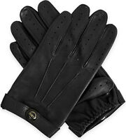 Dents Fleming James Bond Spectre Black Leather Driving Gloves Sz XS