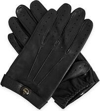 Dents Fleming James Bond Spectre Black Leather Driving Gloves Sz M