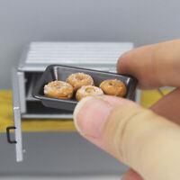 1:12 Dollhouse Miniature Accessories Ovenware Baking Tray Mini Metal Plate CJ EH