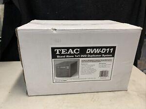 NEW TEAC 1X1 Stand Alone Black Buffer Memory 16x CD/DVD Duplicator Model CDW-D11