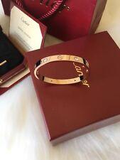 cartier love Set Bracelet Size 18 cm