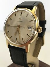 Omega Geneve Calibre 613 Gold-Plated Gents Mechanical Watch - Made In 1969
