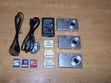 Fujifilm J10 Camera X 3. Family bundle[ includes batts/cards and charger ]