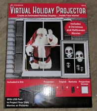 Mr. Christmas Virtual Holiday Projector Kit Halloween & Xmas BRAND NEW NIB RARE
