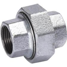 """(20)-Galvanized 3/8"""" Malleable Iron Pipe Fitting Union  511-702HN"""