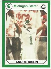 ANDRE RISON 1990 Collegiate Collection #5 NMMT NCAA Michigan St. NFL ATL Falcons