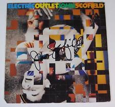 "JOHN SCOFIELD Signed Autograph ""Electric Outlet"" Album Vinyl Record LP"