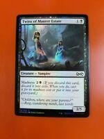 1x Twins of Maurer Estate   FOIL   Ultimate Masters   MTG Magic Cards