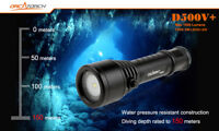 D500+ Orca Torch Dive Light 1000 Lumens WaterProof Gift Scuba Bright