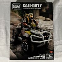 Mega Construx Call of Duty ATV RAID Black Ops 4 - GCN95 - 116 Pieces Activision