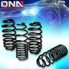 "06-12 VW GOLF RABBIT BLACK 1.25"" DROP SUSPENSION LOWERING SPRINGS/SPRING 255/245"