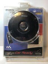 NIB Sony Discman Portable CD Walkman Player with Car Kit D-EJ016CK NEW Sealed