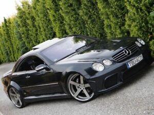 W215 Mercedes Benz CL adjustable lowered links suspension 2000-2006