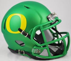 OREGON DUCKS NCAA Riddell SPEED Authentic MINI Football Helmet