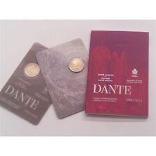 2 euro 2015 San Marino Dante Alighieri folder official BU
