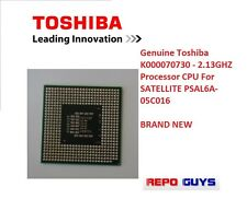 Genuine Toshiba K000070730 - 2.13GHZ Processor CPU For SATELLITE PSAL6A-05C016