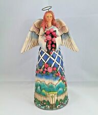 Jim Shore Angel Figurine Guardian of Garden Flowers Heartwood Creek