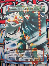 Yugioh Common Orica Elemental HERO Great Tornado